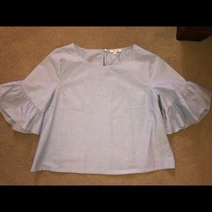 Madewell Bell Sleeved Blouse